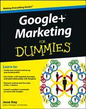 Google+ Marketing For Dummies