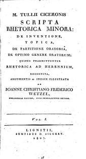 Scripta Rhetorica minora