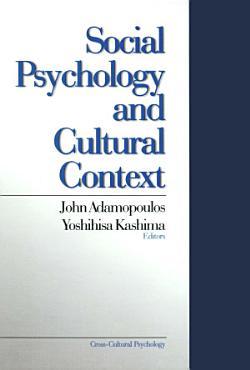 Social Psychology and Cultural Context PDF