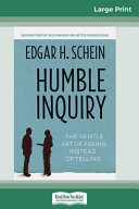 Humble Inquiry Book