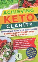 Achieving Keto Clarity Book