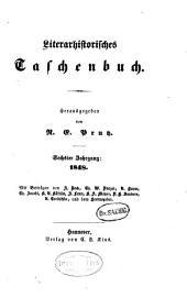 Literarhistorisches Taschenbuch: Band 6