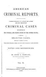 American Criminal Reports PDF