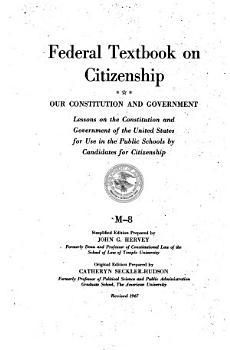Federal Textbook on Citizenship PDF