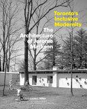 Toronto s Inclusive Modernity