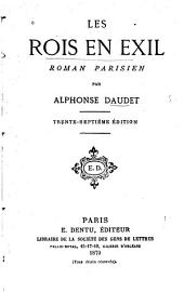Les rois en exil: roman parisien