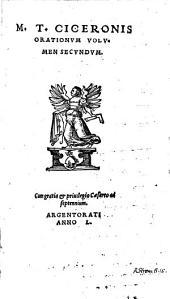 Orationvm Volvmina Tria ... Emendata A Ioan. Stvrmio: Volume 2