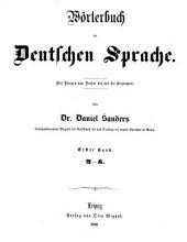 Wörterbuch der Deutschen Sprache: Band 1