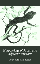 Herpetology of Japan and Adjacent Territory: Issue 58