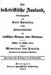 """Die Memoiren des Teufels: Vorläufer der """"Pariser Mysterien"""", Bände 13-15"""
