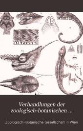 Verhandlungen der Zoologisch-Botanischen Gesellschaft in Wien: Volume45
