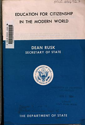 Education for Citizenship in the Modern World PDF