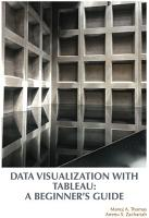 Data Visualization with Tableau  A Beginner s Guide PDF