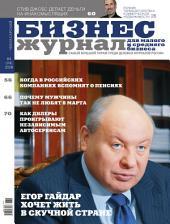 Бизнес-журнал, 2008/04: Республика Чувашия
