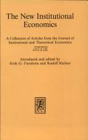 The New Institutional Economics PDF