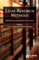 Legal Research Methods PDF