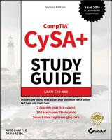CompTIA CySA  Study Guide Exam CS0 002 PDF