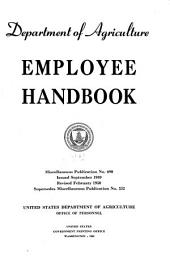 Department of Agriculture Employee Handbook