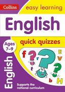 English Quick Quizzes Ages 7-9