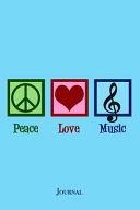 Peace Love Music Journal PDF