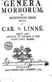 Genera morborum: in auditorum usum
