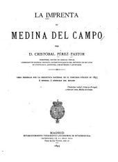 La imprenta en Medina del Campo