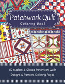 Patchwork Quilt Coloring Book