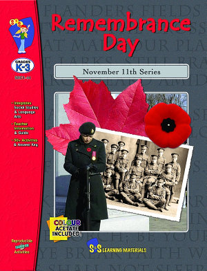 Remembrance Day Gr  K 3