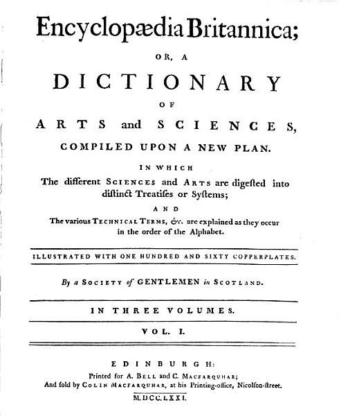 Download Encyclopaedia Britannica or a Dictionary of Arts and Sciences       Book