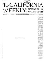 The California Weekly