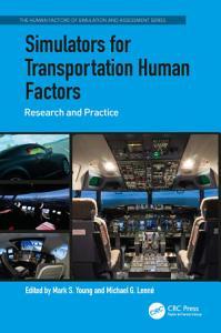 Simulators for Transportation Human Factors PDF