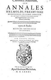 Chronica Slavorum: seu annales