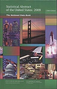 Statistical Abstract of the United States 2009  Hardcover  PDF