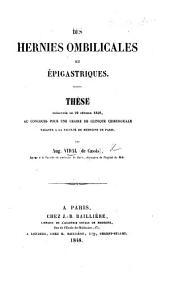 Des hernies ombilicales et épigastriques