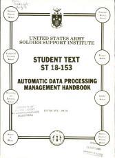 Automatic Data Processing Management Handbook PDF