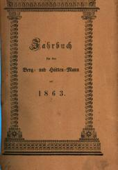 Jahrbuch für den Berg- und Hüttenmann: 1863