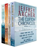 The Clifton Chronicles  Books 1 4 PDF