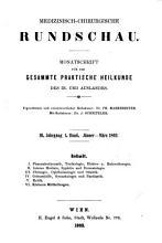Medizinisch chirurgische Rundschau PDF