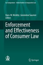 Enforcement and Effectiveness of Consumer Law PDF