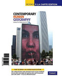 Books a la Carte for Contemporary Human Geography