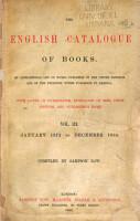The English Catalogue of Books PDF