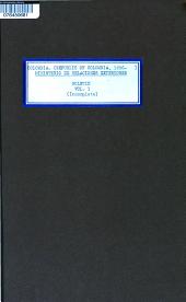 Boletin del Ministerio de Relaciones Exteriores: Volumen 1
