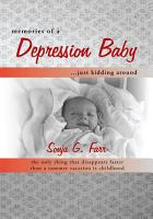 Memories of a Depression Baby Just Kidding Around PDF
