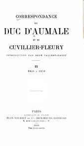 Correspondance du duc d'Aumale et de Cuvillier-Fleury: Volume2