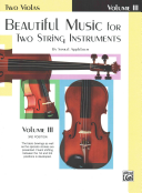 Beautiful Music for Two String Instruments  Book III  2 Violas  PDF