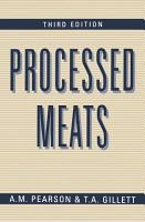 Processed Meats PDF