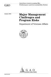 Major management challenges and program risks : Department of Veterans Affairs