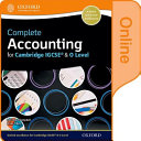 Complete Accounting for Cambridge IGCSE and O Level PDF