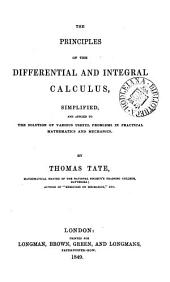 The principles of the differential and integral calculus simplified