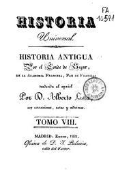 Historia antigua: Volumen 8